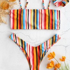 ZAFUL multi colour bikini